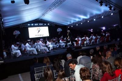 Orquesta sinfonica nacional deleita a banilejos en espectacular concierto.