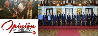"""Primer mandatario lanza proyecto """"dominicana limpia""""; alcalde participa en acto de apertura."""